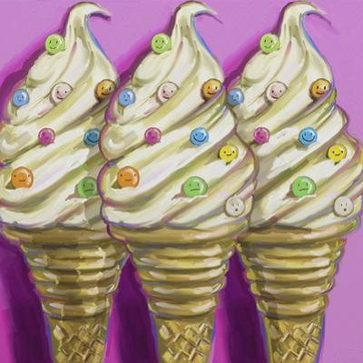 Ice-cream-faces by Howie Green