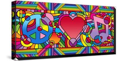 Peace Love Music B by Howie Green