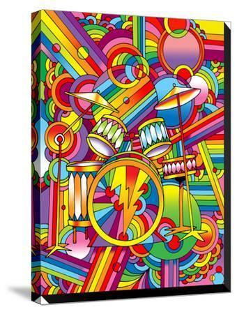 Pop Art Drums by Howie Green