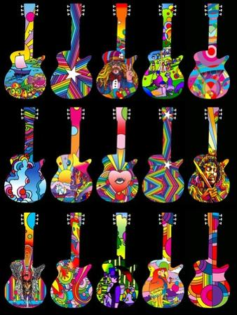 Pop Art Guitars by Howie Green