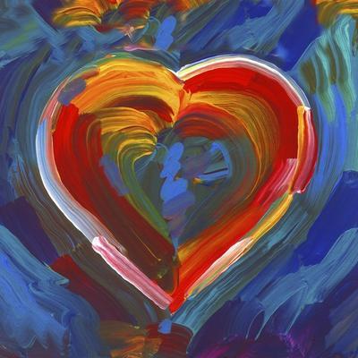 Pop Art Heart Icon