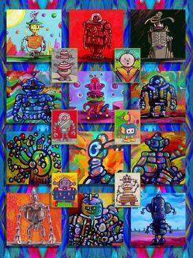 Pop Art Robots by Howie Green
