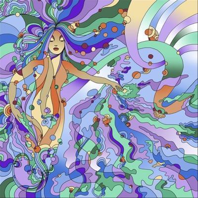 Siren Pop Art by Howie Green