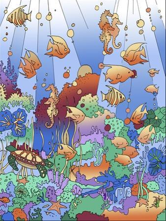 Under The Sea 2 by Howie Green