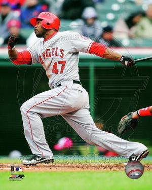 Howie Kendrick 2012 Action