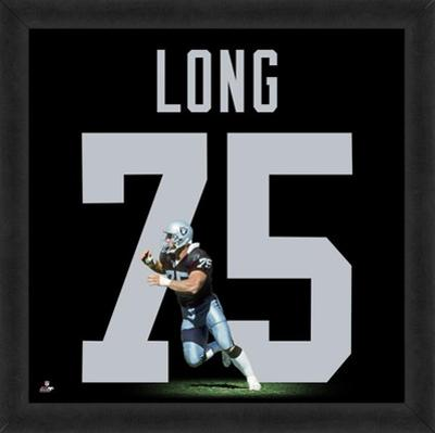 Howie Long, Raiders representation of the player's jersey
