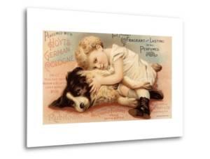 Hoytes Cologne, Dogs, Womens, USA, 1890