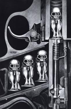 Birth Machine by HR Giger