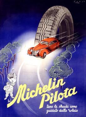 Michelin, Pilota, c.1930 by Hrast