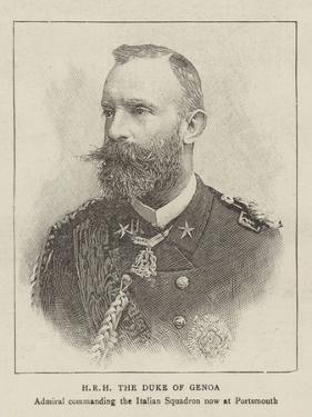 Hrh the Duke of Genoa