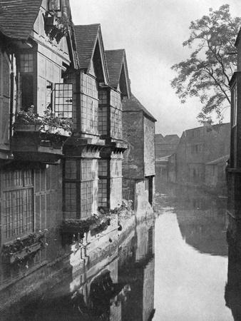 The Weavers' House by the River Stour, Canterbury, Kent, 1924-1926
