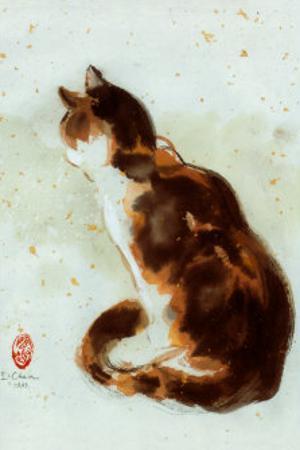 Dehong's Cat by Hu Chen