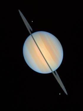 Hubble Image of Saturn