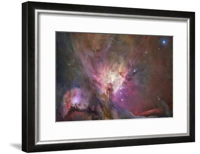 Hubble's Sharpest View of the Orion Nebula Space Photo Art Poster Print--Framed Poster