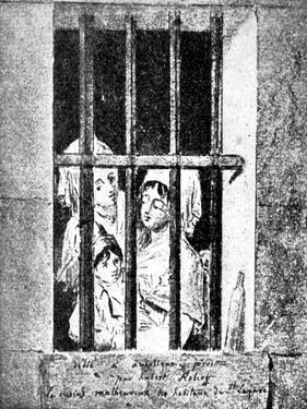 André Chénier 's poem 'Jeune Captive' by Hubert Robert