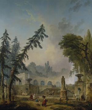 Parklandschaft, 1773 by Hubert Robert