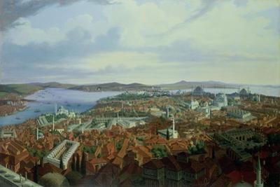 Panorama of Constantinople from the Suleymaniye Camii, 1844