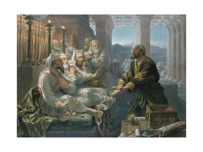Judas and the Thirty Pieces of Silver for Betraying Christ
