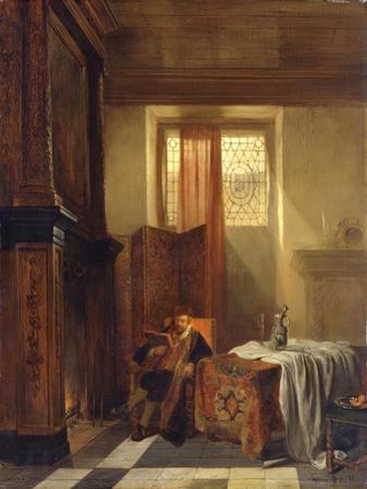 The Philosopher, 1844 by Hubertus van Hove