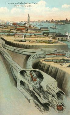 Hudson and Manhattan Tube, New York City