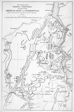 Hudson River: Military Map