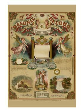 Symbols -Masonic Record by Hudson