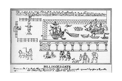 Billingsgate, London, 1598 (1904)