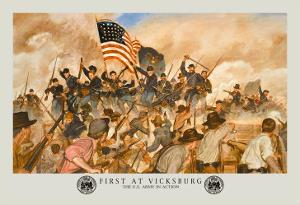 First at Vicksburg by Hugh Charles Mcbarron Jr.