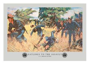 Gatlings to the Assault by Hugh Charles Mcbarron Jr.