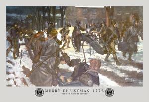 Merry Christmas, 1776 by Hugh Charles Mcbarron Jr.