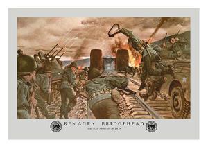 Ramagen Bridgehead by Hugh Charles Mcbarron Jr.