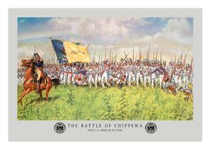 The Battle of Chippewa, War of 1812 by Hugh Charles Mcbarron Jr.