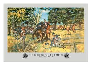 The Road to Fallen Timbers, Northwest Indian War by Hugh Charles Mcbarron Jr.