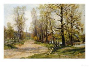 The Country Lane by Hugh Jones