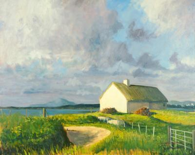 Donegal Cottage by Hugh O'neill