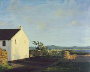 Irish Cottage Lane by Hugh O'neill