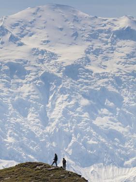 Hiker, Denali National Park, Alaska, USA by Hugh Rose