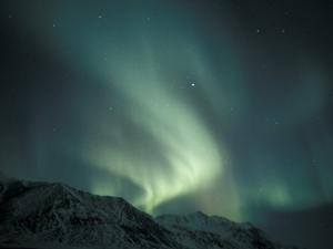 Northern Lights Over Endicott Mountains, Gates of the Arctic National Preserve, Alaska, USA by Hugh Rose