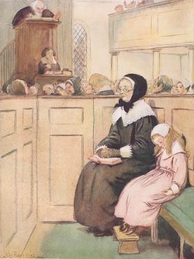 A Pious Widow of Good Social Rank by Hugh Thomson