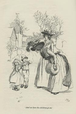 And see how the children go on, 1896 by Hugh Thomson