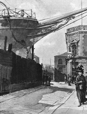 Dockland Scene by Hugh Thomson
