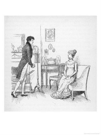 Elizabeth Bennet Refuses Mr. Darcy