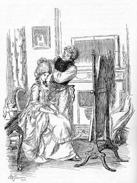 Evelina' by Fanny Burney by Hugh Thomson