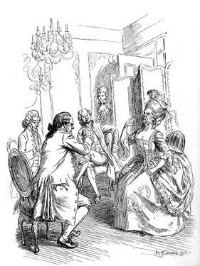 Evelina' by Frances Burney by Hugh Thomson