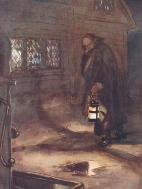 Good Father Wilson Was Moving Homeward by Hugh Thomson