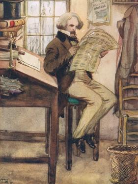 Hawthorne in the Custom House by Hugh Thomson