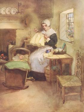 Hester and Her Needle by Hugh Thomson