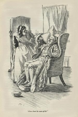 How fond he was of it, 1896