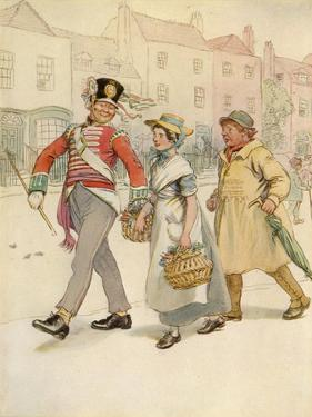 J M Barrie 'Quality Street' by Hugh Thomson