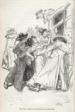 Jane Austen' s novel ' Northanger Abbey' - by Hugh Thomson